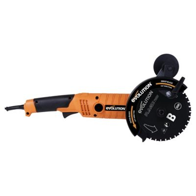 Evolution RAGE Twin155 Twin Blade Saw (Orange)