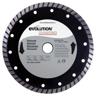 Evolution 185mm Diamond Blade