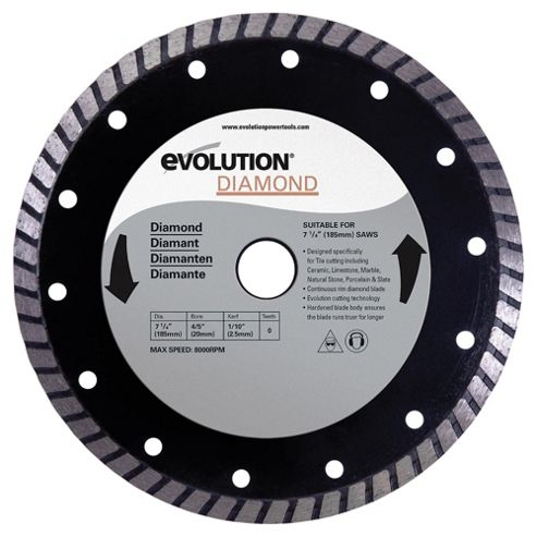 Evolution 185mm Diamond Blade