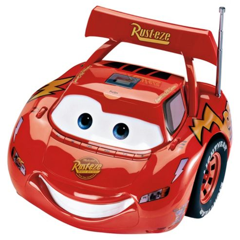 Disney Cars CD Boombox High Quality Sound - Red