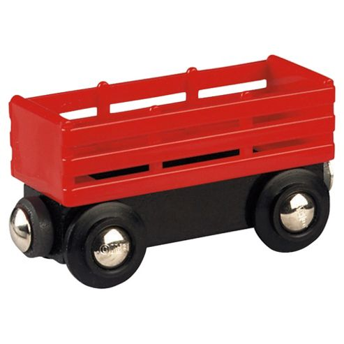 Brio Classic Accessory Red Tipping Wagon, wooden toy