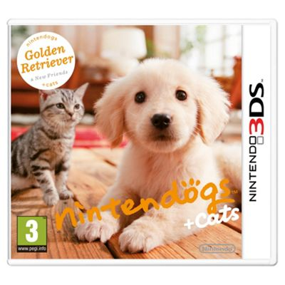 3DS Nintendogs + Cats ( Golden Reteiver + New Friends)