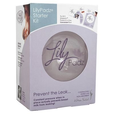 LilyPadz Re-usable Breast Pads 1 Pair