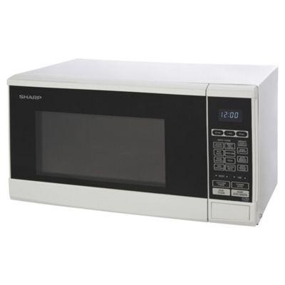 Sharp R270WM 20L Solo Microwave - White