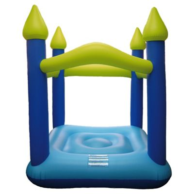 Tesco Blue Bouncy Castle