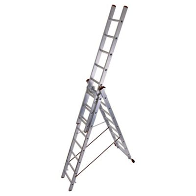 Abru Professional 2.41m Triple Combination Ladder