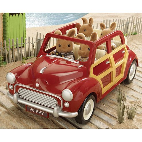 Sylvanian Families - Burgundy Family Car