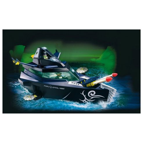 Playmobil 4882 Robo Gangster Stealth Yacht