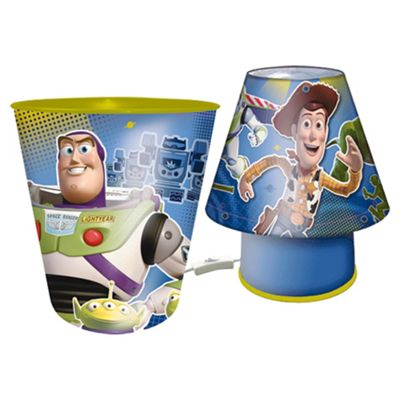 Toy Story Bin And Lamp Set