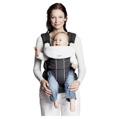 BABYBJORN Bib for Comfort Carrier, White
