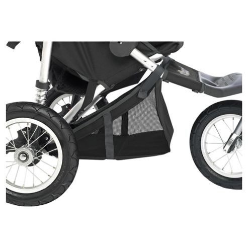 Out 'n' About Double Storage Pushchair Basket 360, Black
