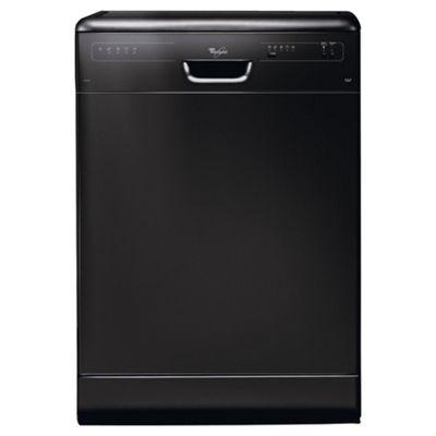Whirlpool ADP2315 Full Size Dishwasher, A Energy Rating. Black