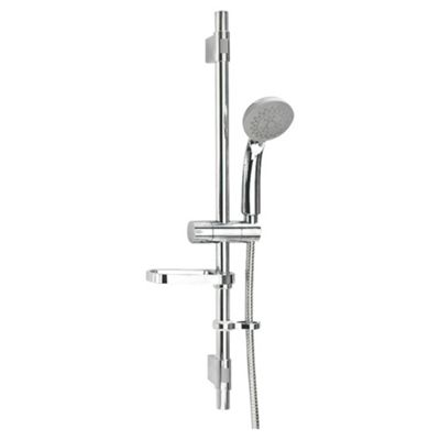 Croydex Trio Three Function ECO Shower Set Chrome Finish