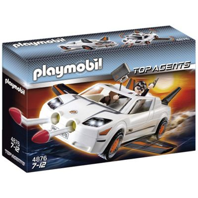 Playmobil 4876 Secret Agent Super Racer