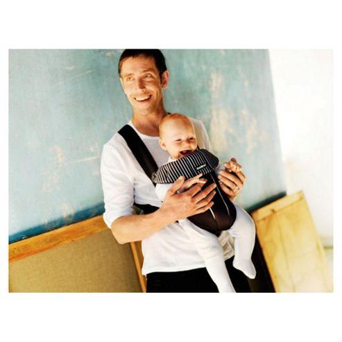 BABYBJORN Baby Carrier Original, Black/Pinstripe, Cotton