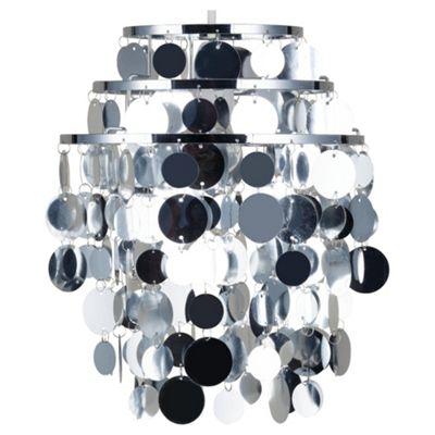 Tesco Lighting Spangle Pendant Shade, Silver