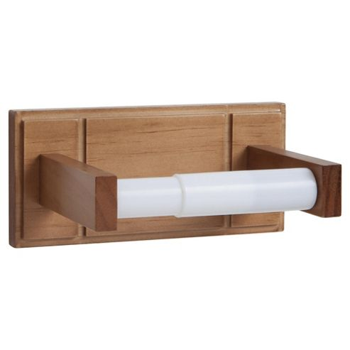 Croydex Toilet Roll Holder Beech