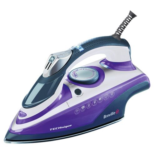 Breville VIN212 auto shut off Iron with Ceramic Plate - Blue