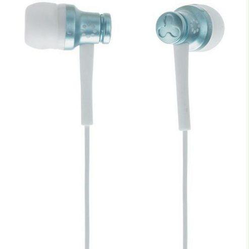 Memorex Ear Canal Earbud iPod & MP3 Earphone Blue EB50