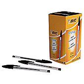 Bic Cristal Ballpoint Pens Black 50 Pack