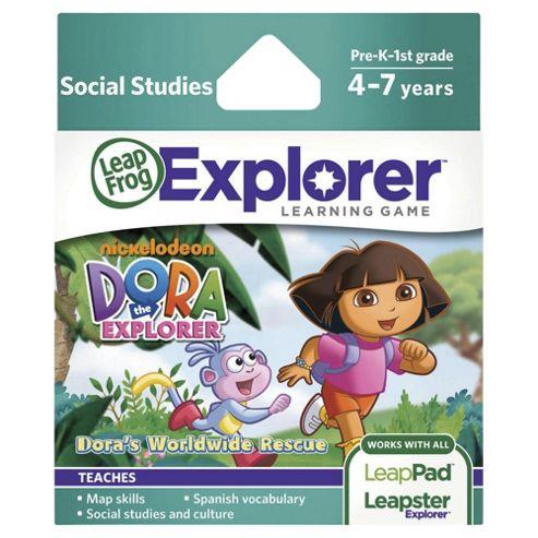 Leapfrog LeapsterLeapPad Explorer Dora the Explorer Game