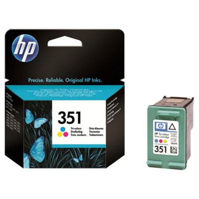 HP 351 Tri-colour Original Ink Cartridge