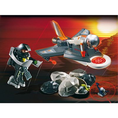 Playmobil 4877 Secret Agents Detector Jet