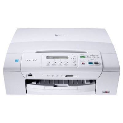 Brother DCP-195C All-in-One Ink Jet Printer (Print, Copy and Scan)
