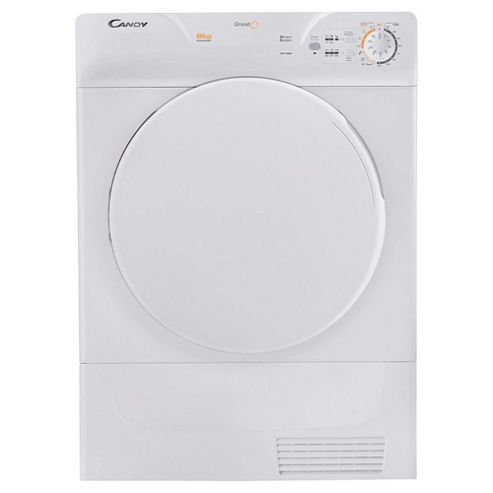 Candy Smart GOC580C Condenser Tumble Dryer, 8kg Load, C Energy Rating. White