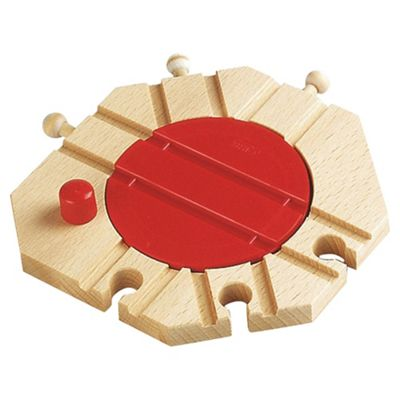 Brio Classic Accessory  Mechanical Turntable, wooden toy