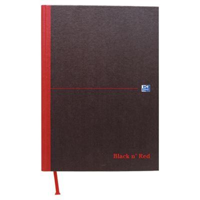 Black n' Red A4 Casebound Notebook