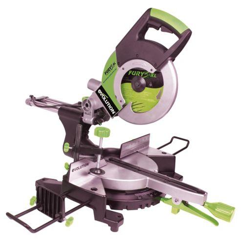 Evolution FURY3-XL Multipurpose Sliding Mitre Saw (Green)