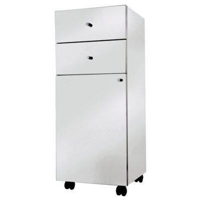 Croydex Eden Stainless Steel Drawer Unit