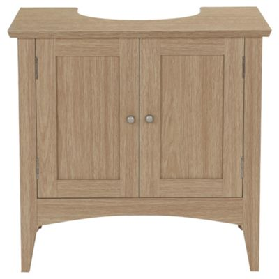 Portico Under Sink Cabinet, Light Wood