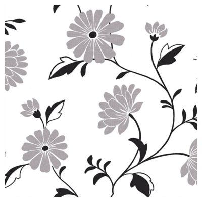 Arthouse Chelsea black & white wallpaper