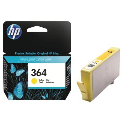 HP 364 Yellow Original Ink Cartridge
