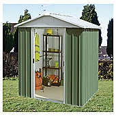 Yardmaster 7'5x6'9 Metal Apex Shed