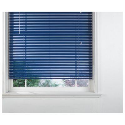 Blue Venetian Blind 60cm