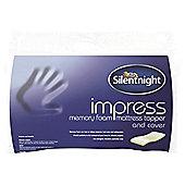 Silentnight Single Memory Foam Deluxe Mattress Topper