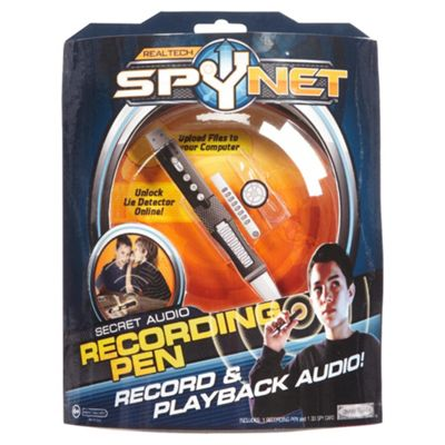 Spynet Secret Audio Recording Pen