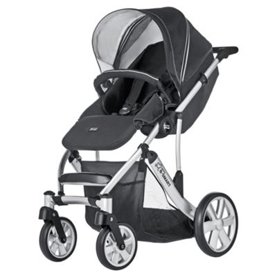 Britax B Smart 4 Neon Pushchair, Black
