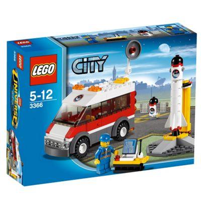 LEGO 3366 City Satellite Launch Pad