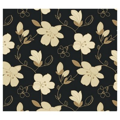 Arthouse Paloma black wallpaper