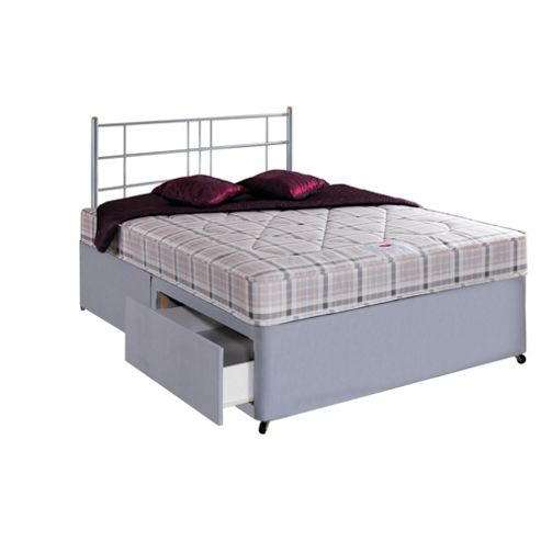 Airsprung Melbourne Sprung Double 2 Drawer Divan Bed