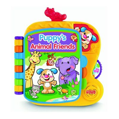 Fisher-Price Laugh and Learn Puppys Animals Friends Story Book