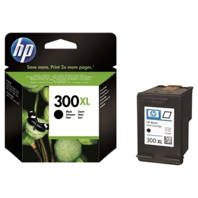 HP 300XL High Yield Black Original Ink Cartridge