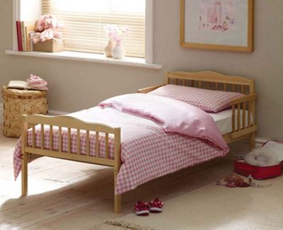 Saplings Stephanie Cot Bed, Country Pine