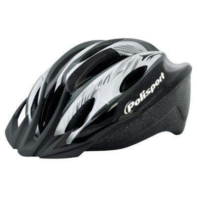 Polisport Myth helmet 52-56cm Black & Grey