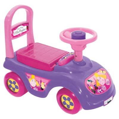 Ben & Holly Sit And Ride Car