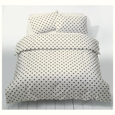Heart Polka Duvet King Size